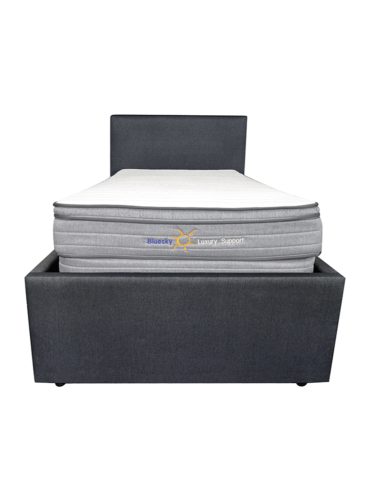 Bluesky Mobility Luxury Support Boxspring Pillow Top