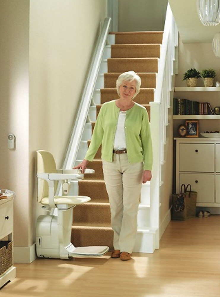 Stannah Siena Straight Stairlift