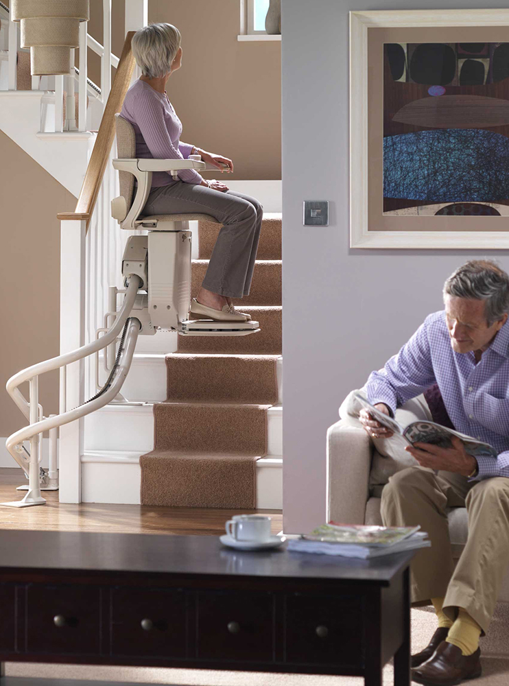 Stannah Starla Curved Stairlift