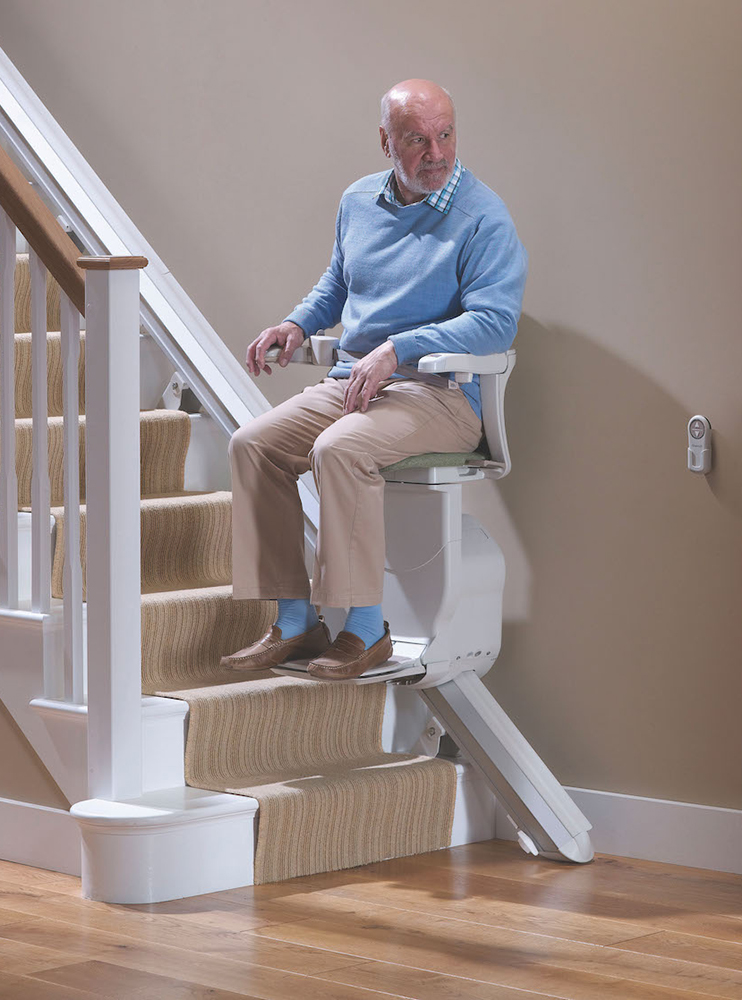 Stannah Starla Straight Stairlift